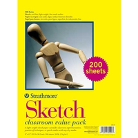Strathmore 300 Series Sketch Paper Classroom Value Pack
