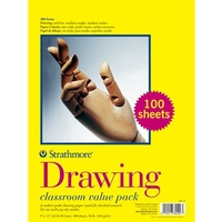 Strathmore 300 Series Drawing Paper Classroom Value Pack