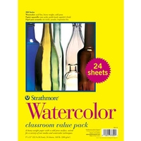 Strathmore 300 Series Watercolor Paper Classroom Value Pack