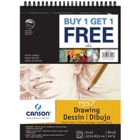Buy One, Get One Free Classic Cream Drawing Pack