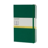 Moleskine Colored Hard Cover Notebook Squared Large