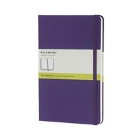 Moleskine Colored Hard Cover Notebook Plain Large