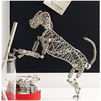 Wire Doodle Aids - Rover the Doodle Dog