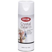 Krylon Crystal Clear Spray Fixative & Varnish