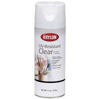 Krylon UV-Resistant Clear Coating Spray