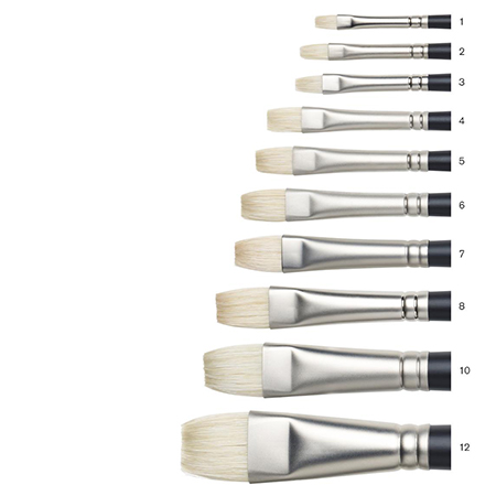 Winsor & Newton Artists' Oil Brushes