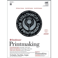 Strathmore 500 Series Riverpoint Printmaking Paper Heavyweight Cotton