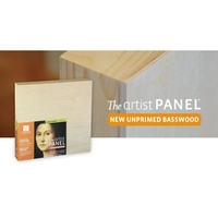 Ampersand Artist Panel - Unprimed Basswood Value Packs