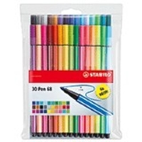 Stabilo Pen 68 Neon Set of 30