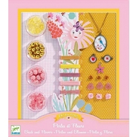 Djeco Beads & Flowers Kit