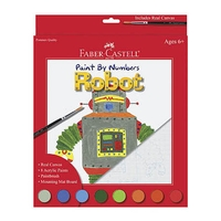 Faber Castell Paint by Number Robot