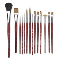 Princeton 3950 Velvetouch Synthetic Mixed Media Brushes