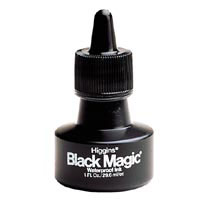 Higgins Waterproof Black Magic Ink