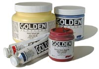 Golden Heavy Body Acrylic Paint - All Sizes