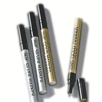 Pilot Gold Amp Silver Metallic Permanent Markers