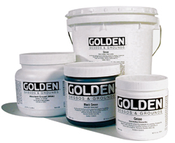 Golden Artist Black Gesso