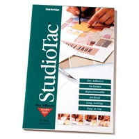 Studio Tac Dry Adhesive Repositionable & Permanant -  Original