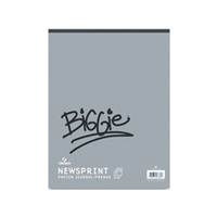 Canson Biggie Newsprint Rough - 100 Sheets/Pad