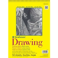 Strathmore 300 Series Drawing Spiral-Bound Pads