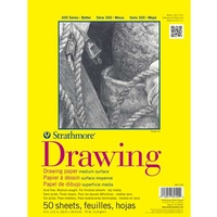 Strathmore 300 Series Drawing Pads Tape Top Bound
