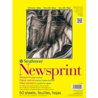 Strathmore 300 Series Newsprint Pads - Rough