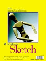 Strathmore 300 Series Sketch Pads Tape Top Bound