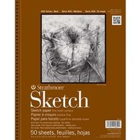 Strathmore 400 Series Sketch pad Wire Bound