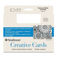 Strathmore Blank Greeting Cards & Envelopes 50-Packs Asstd