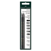 Faber Castell Pitt Monochrome Pure Graphite Pencil (Woodless)