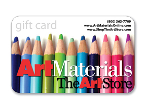 Gift Certificates - Art Materials Retail Store