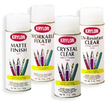 Krylon Fixatives & Artist Sprays