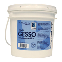 Art Alternatives Gesso Gallon - White Acrylic