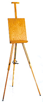 Mabef Field Easel with Adjustable Panel M-26