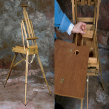 Jack Richeson Lyptus Weston Half-French Style Easel