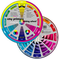 Color Wheel CMY Primary Mixing And Workbook