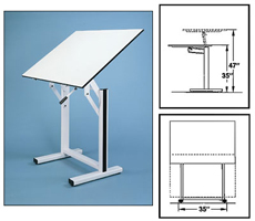 Alvin Ensign Drafting Table