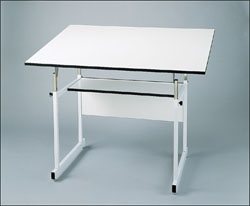 Alvin Workmaster Jr. 4-Post Drafting Table