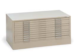 Mayline C-Files Ten-Drawer File