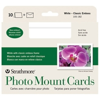 Strathmore Photo Mount Cards 50 Pack