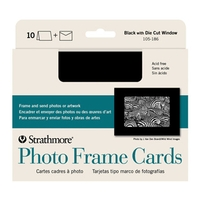 Strathmore Blank Photo Mount Greeting Cards Bulk - 100 Pack