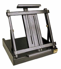 Art Alternatives Ravenna Table Top Wood Box Easel - Black Finish