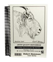 Robert Bateman Recycled Sketch Books