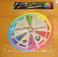 Color Wheel CMY Primary Mixing