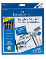 Faber-Castell Creative Studio Getting Started Drawing Pencil Set