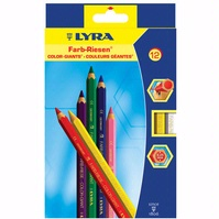Lyra COLOR-GIANTS Colored Pencil Sets