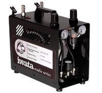 Iwata Power Jet Pro Twin Pump Compressor