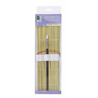 Art Alternatives Bamboo Roll-Up Brush Holder