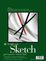 "Strathmore Premium Recycled Sketch Paper Pad 11"" x 14"""