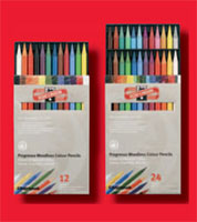 Koh I Noor Progresso Woodless Colored Pencil Sets