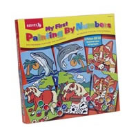 Reeves Paint by Numbers Gift Set